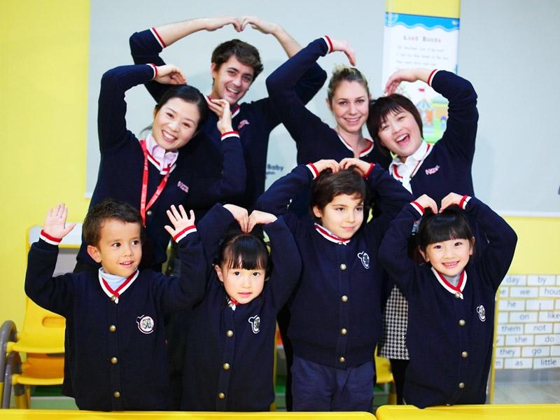 爱贝国际少儿英语加盟 1