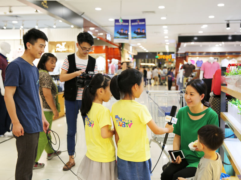 UBTV小主播加盟 1
