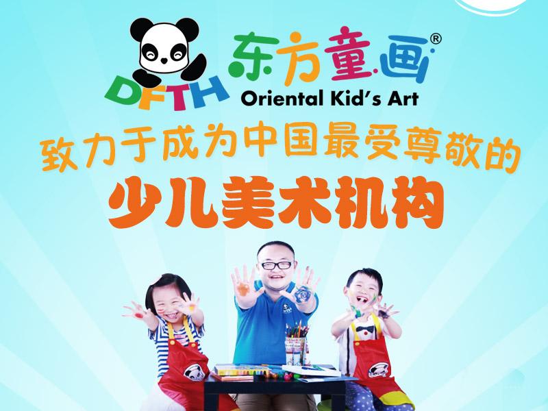 东方童画少儿创意美术加盟 1
