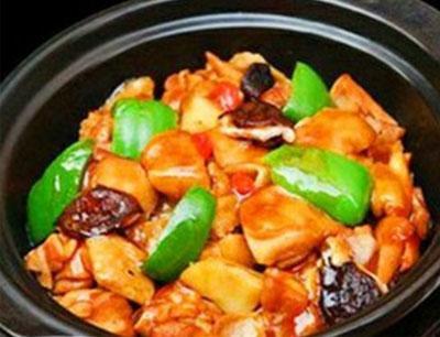 红领黄焖鸡米饭