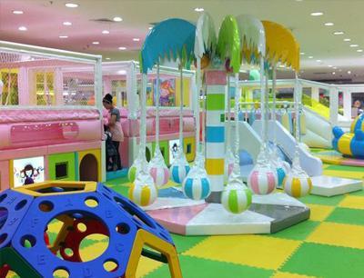 卡卡兔儿童游乐园加盟 卡卡兔儿童游乐园