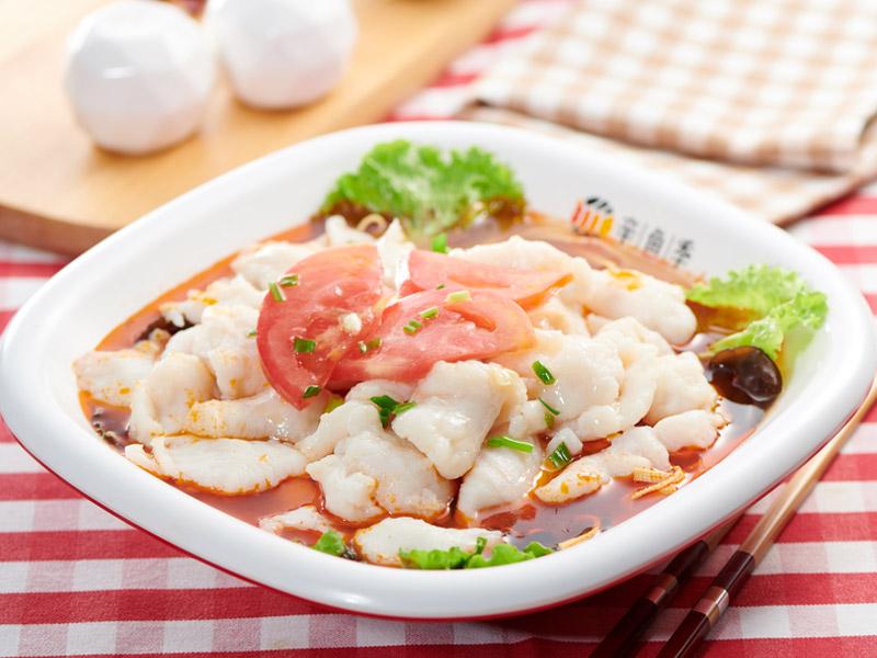 辛鱼季精品酸菜鱼加盟 产品图