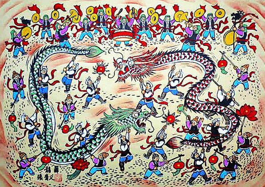 民间艺术画