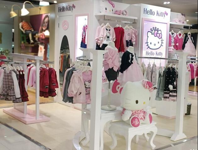 HelloKitty童装加盟店面