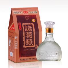 好日子加盟 批发供应52度诸葛酿铁盒装白酒500ml浓香型川酒