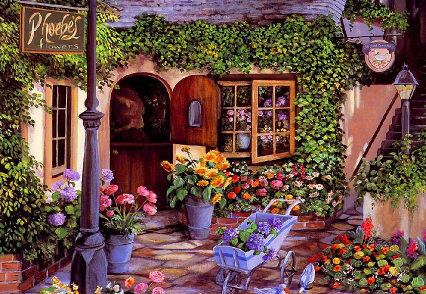 开一家花店的开店流程介绍