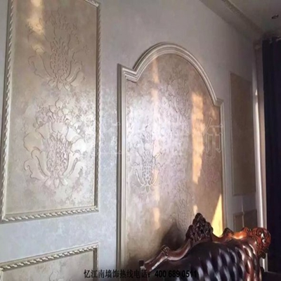 手工壁纸,今年墙面装饰材料爆款图片