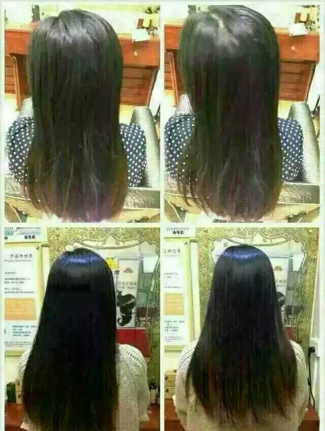 为顾客多次使用海娜粉植物染发粉后现在的效果)-国外报道海娜可以图片