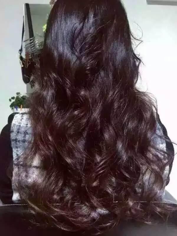 纯植物海娜粉染发原理图片