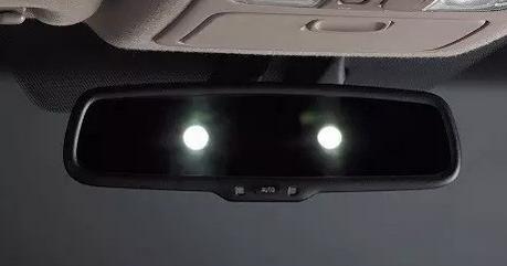防眩后视镜厉害吗?再牛远光灯变成只有一瓦节能灯