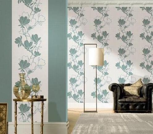 窗帘与壁纸应该如何相互配合?直击进口壁纸与布艺的搭配效果图