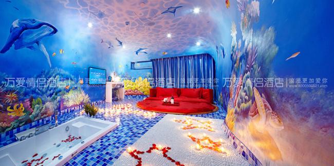 万爱情侣酒店进驻沧州:在水一方,分外妖娆
