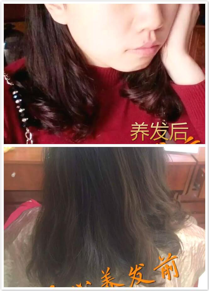 (纯植物海娜粉染发粉不止染发,看着养发效果-头发的又一次重生)-图片