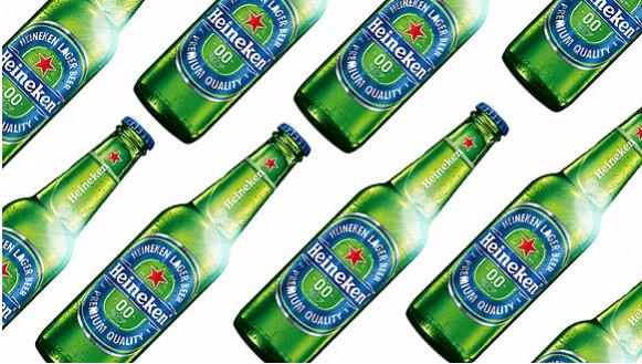 喜力推出了一款无酒精啤酒 想借此与百威英博在国际市场竞争